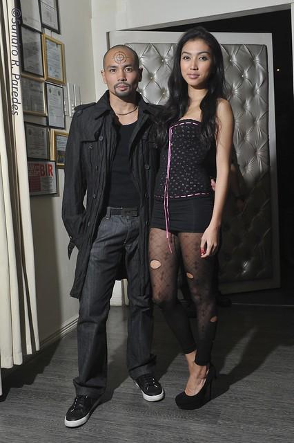 Jinno Rufino and Denisse Oca