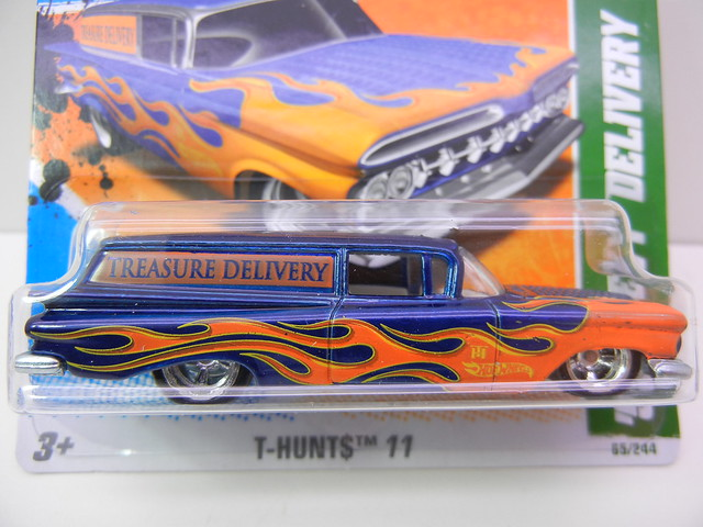 hot wheels  super treasure hunt '59 chevy delivery
