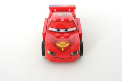 8423 World Grand Prix Racing Rivalry Lightning McQueen - Nose