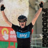 Chris Froome wins the 17th stage in the Vuelta...