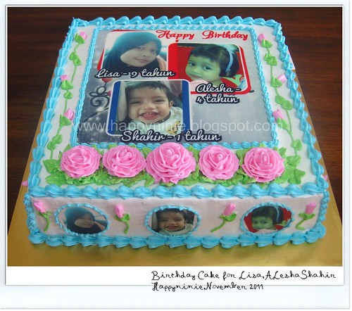 Cake for Lisa,alesha,shahir