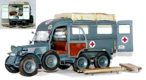 Plusmodel Steyr 640 ambulance
