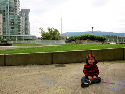 chillin' in the park