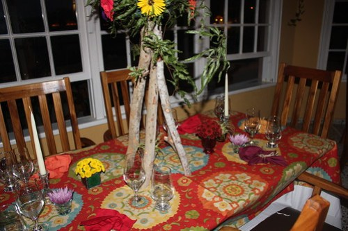 The table setting
