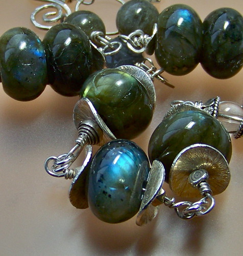 Labradorite Necklace by WETCLOUD
