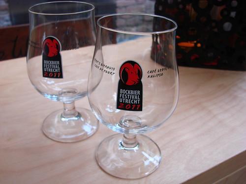 Bokbier Festival Glasses