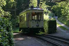 Bergbahn Talfahrt