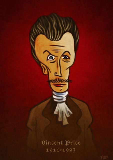Vincent Price - Portrait : Gilderic