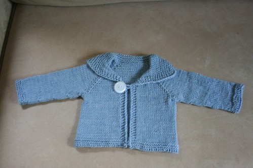 knitted :: Easy Baby Cardigan