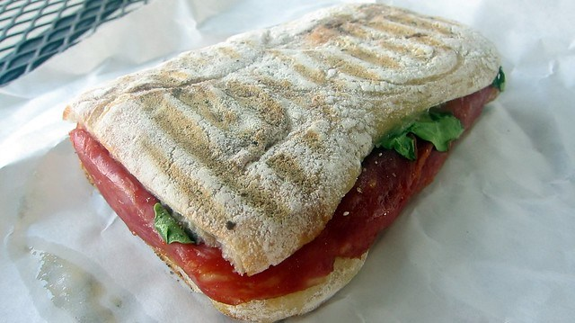 toscano sandwich at toscano & sons
