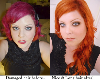 Hair extensions by melonie pavlick in san jose krista robyn my hair before extensions and after pmusecretfo Image collections