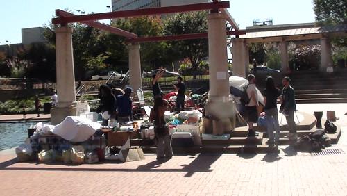 Occupy STL at Kiener Plaza, St. Louis