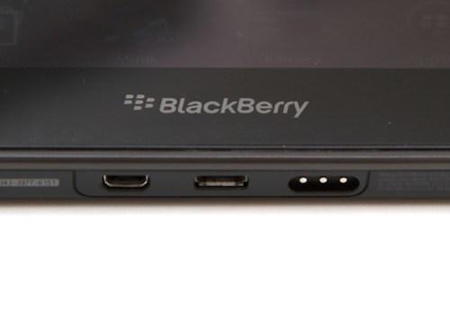 Blackberry Playbook Anschlüsse
