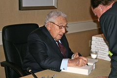 "Dr. Kissinger signs ""On China"""