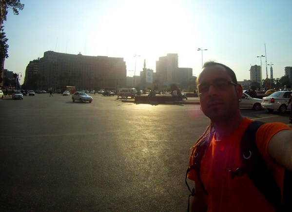 Midan Tahrir... la plaza de la revolución.