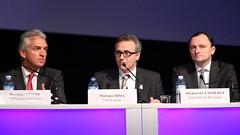 R. Stroh, NXP, M. Dima, Visa Europe, M. Kuemmerle, G&D