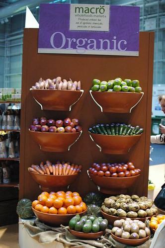 Macro organic produce