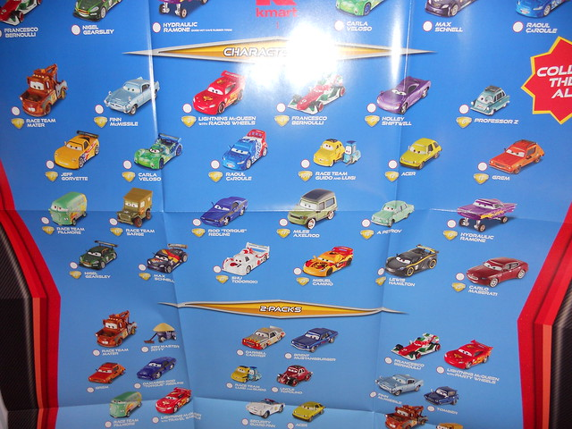 disney cars 2 kmart collectors event june 25 2011 extras (8)