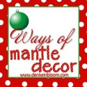 Ways of Mantle Decor