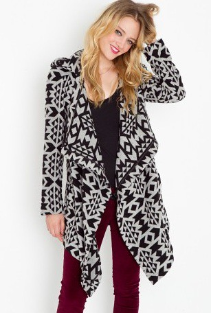 BB Dakota Azra blanket coat