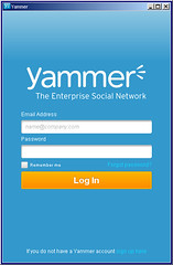 adobe air yammer bmn app