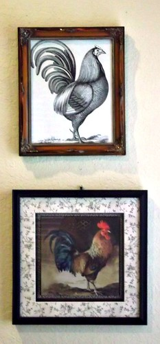 rooster pair by hines house