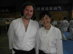 with Masako-san