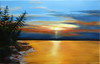 Oil Painting of the Baie de Caraquet 2011
