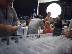 Collection point for wine purchases, Singapore Wine Fiesta 2011, Customs House
