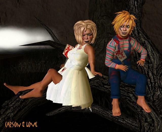 MLC - Chucky and Bride of Chucky