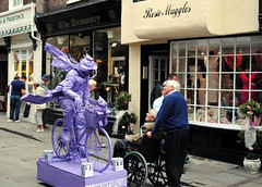 Purple Bike Man