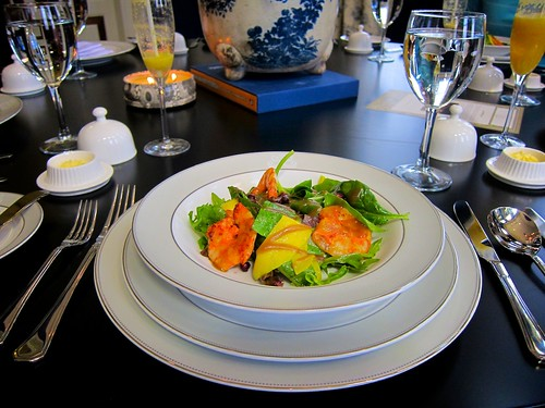 Salade de crevettes  by bloompy