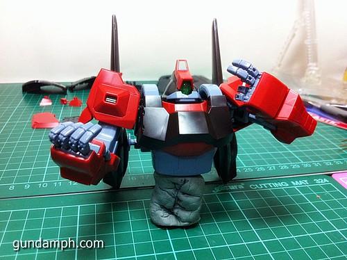 MG Rick Dias Quattro Custom RED Review OOB Build (28)