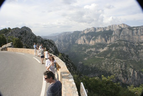 Miradouro do Canion do Verdon a quase 1000m