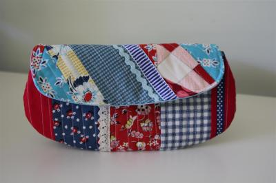 Scrappy swap pouch front