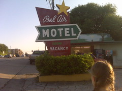 """Bel Air Motel, South Congress Ave, Austin, TX • <a style=""""font-size:0.8em;"""" href=""""http://www.flickr.com/photos/41570466@N04/6267299610/"""" target=""""_blank"""">View on Flickr</a>"""
