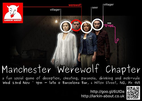 Manchester werewolf chapter poster for november