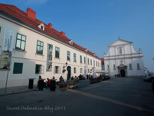 The historic Gornji grad