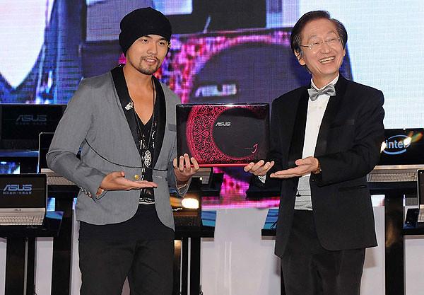 ASUS + Jay Chou!