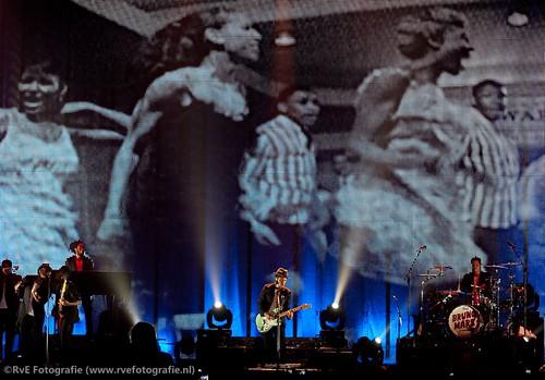 Bruno Mars in de Heineken Music Hall (05-07-2011).