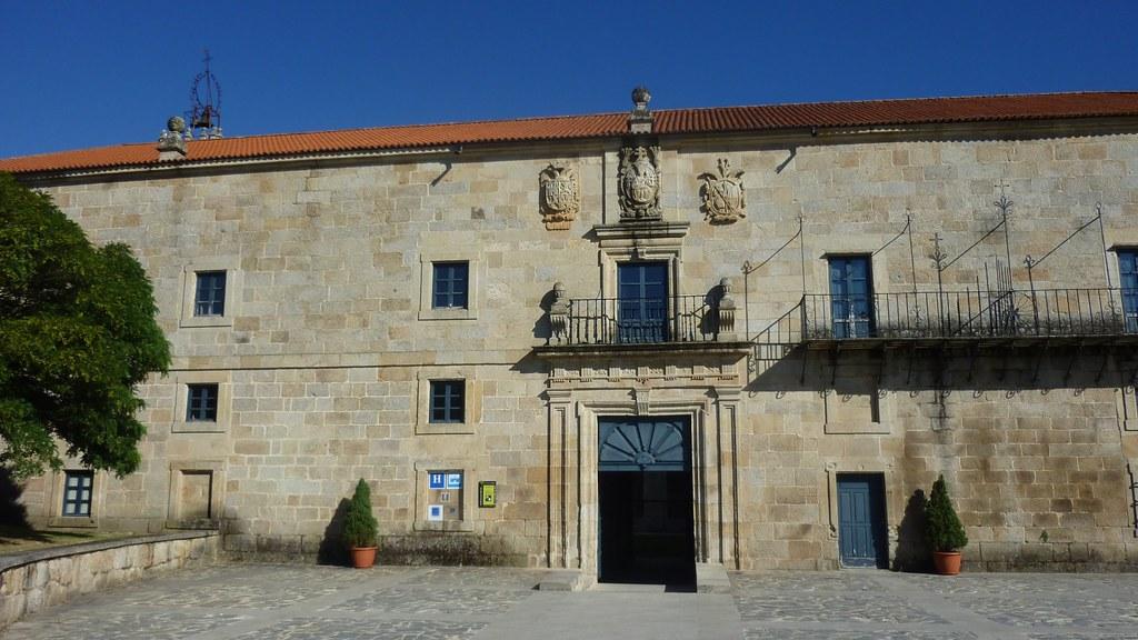 Postales del Ribeiro: Monasterio de San Clodio de Leiro