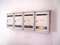 Letterboxes, Ah Chiang Traditional Porridge, Tiong Poh Road, Tiong Bahru Estate