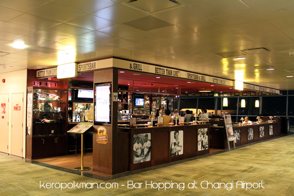 Changi Airport - O'Learys Sports Bar and Grill