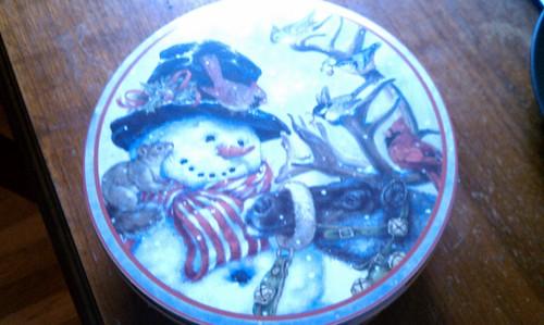 Yay! Festive Cookie Tin!