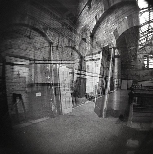 multiple exposure of Victoria Baths