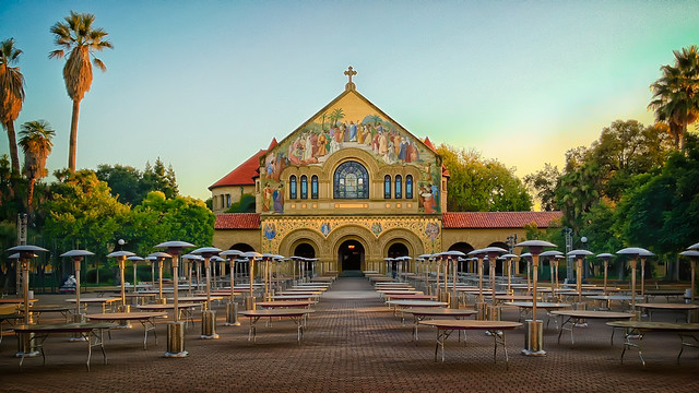 Stanford Memorial Church - iPhone 4S - Scott Loftesness
