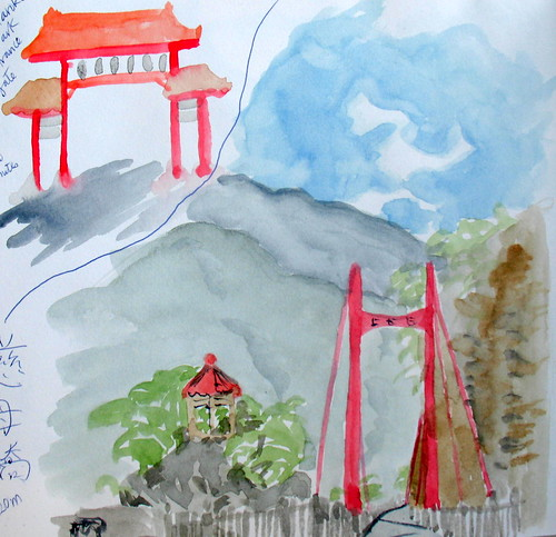 Sketches from Taroko National Park