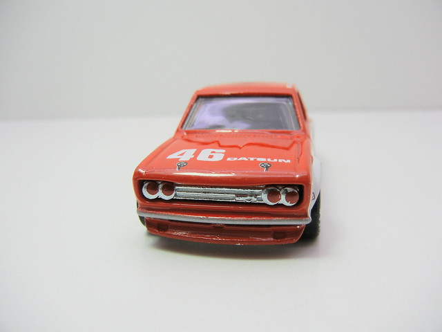 HOT WHEELS VINTAGE RACING JOHN MORTON'S BRE DATSUN BLUEBIRD 510 (3)
