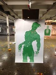Zombie target practice