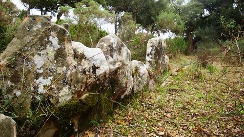 Ortostatos alineados Cerro del Laurel